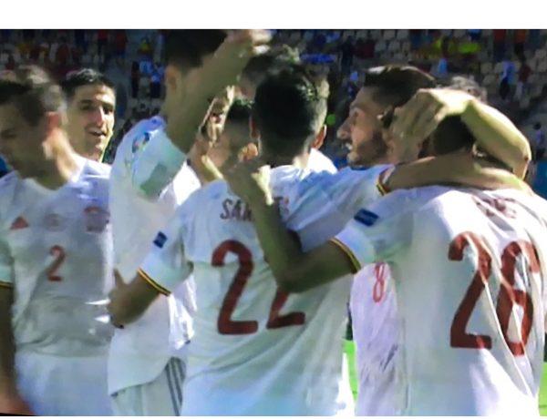 españa, eslovaquia, eurocopa, 23 junio 2021, tele5, himno, programapublicidad