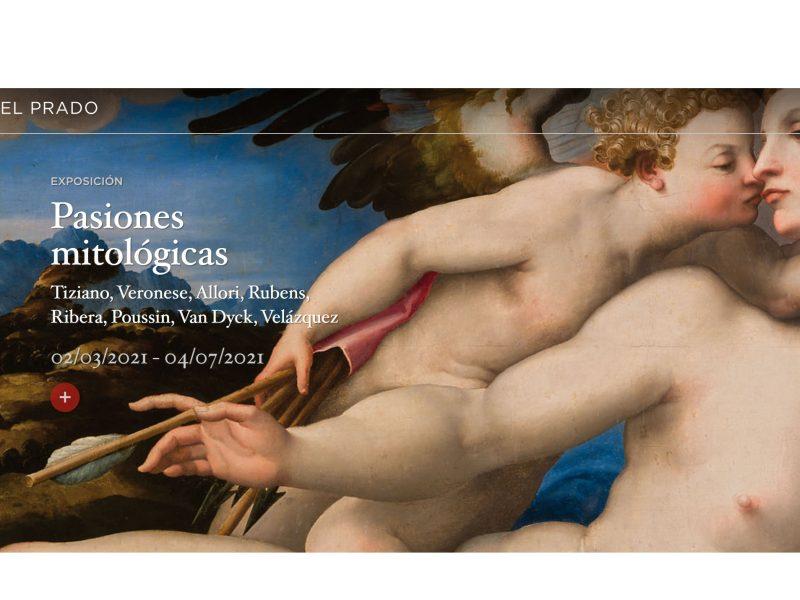 museo del prado, pasion mitologica, web, programapublicidad