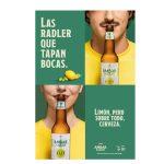 """Pingüino Torreblanca crea lo último de Ambar: """"las Radler que tapan bocas""""."""