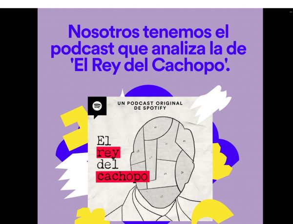 spotify, rey, cachopo,podcast,PROGRAMAPUBLICIDAD