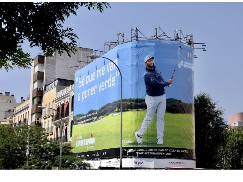 ACCIONA ,patrocinador Open de España, golf,programapublicidad