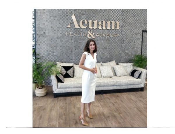 Alejandra Nuño, Managing director ,consultora , salud Acuam, HealthCare, programapublicidad