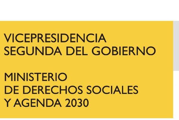 Ministerio ,Derechos Sociales , Agenda 2030, programapublicidad