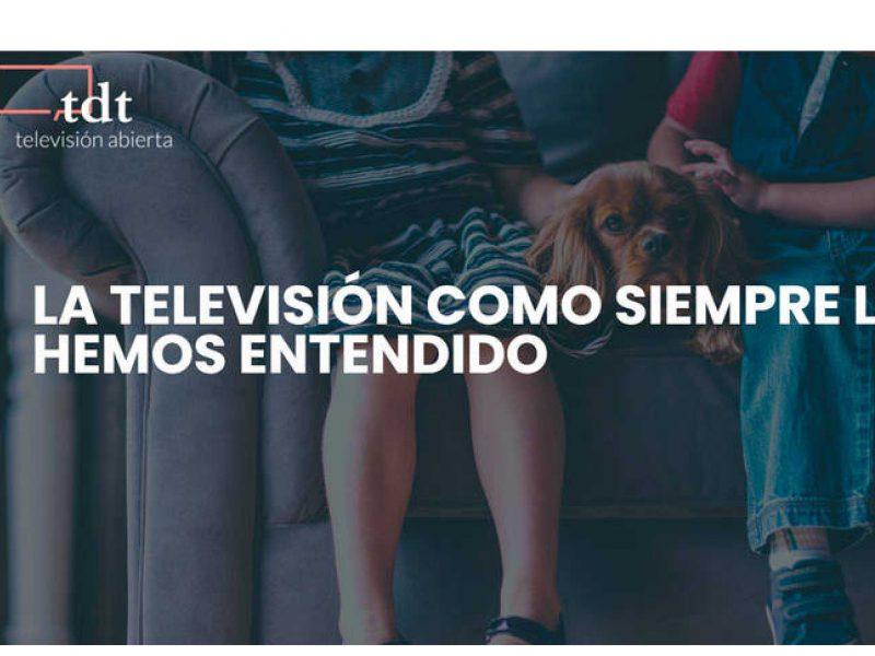 RTVE ,se une ,televisión abierta , TDT, programapublicidad