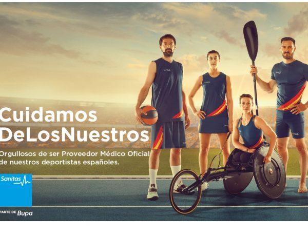 Smilebrand, crea, campaña, #CuidamosDeLosNuestros, apoyo, deportistas, españoles,Sanitas, programapublicidadSmilebrand, crea, campaña, #CuidamosDeLosNuestros, apoyo, deportistas, españoles,Sanitas, programapublicidad