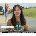 Televisión de Galicia, primera televisión pública en retransmitir mediante 5Gde Telefónica.