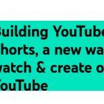 YouTube lanza beta de YouTube Shorts, vídeos en formato corto con el móvil.