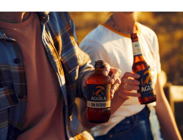 cerveza ,El Águila, lanza ,nueva campaña ,formato digital, verano, consumo ,Mikel Boisset, Bego Martín ,Lewis Beards,programapublicidad