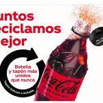 Coca-Cola estrena en España los nuevos tapones reciclables de sus botellas