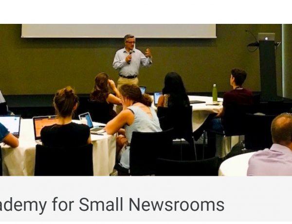 google, bbc, AI Academy ,Small Newsrooms, journalist, programapublicidad