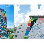Zalando, lanza una acción de street art junto con Okuda San Miguel e Ymedia.