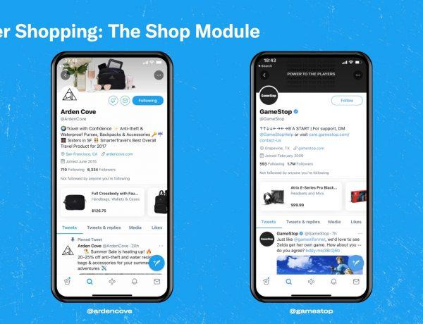 Twitter ,introduces ,shopping module, programapublicidad
