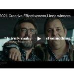 WARC desvela claves de los ganadores en Creative Effectiveness, Cannes 2021