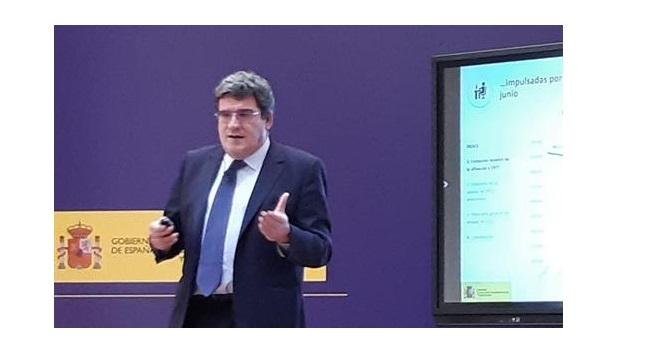 concurso, ministro ,Inclusión, seguridad social, José Luis Escrivá, programapublicidad