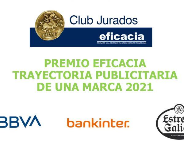 BBVA, Bankinter , Estrella Galicia , finalistas, eficacia, Trayectoria Publicitaria , Marca, programapublicidad