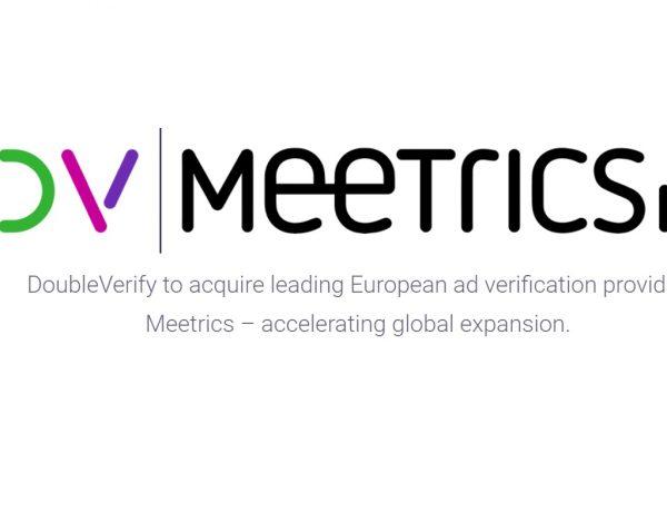 DoubleVerify ,EMEA ,adquisición ,Meetrics ,programapublicidad