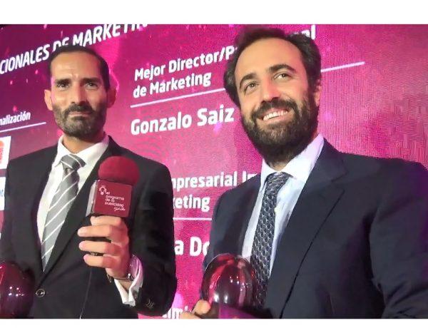 Gonzalo Sáiz, Director de Marketing y Fernando Nicolás, Director de Publicidad y Medios , Bankinter ,programapublicidad