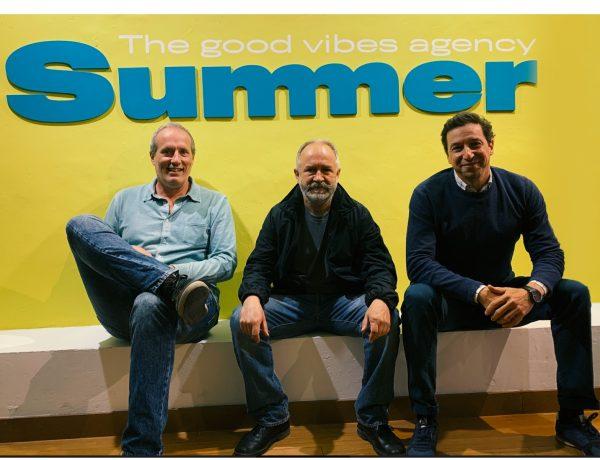José Luis Esteo, Ramón Azofra ,CEO de The Summer Agency, Antonio Mendoza,director general ,programapublicidad