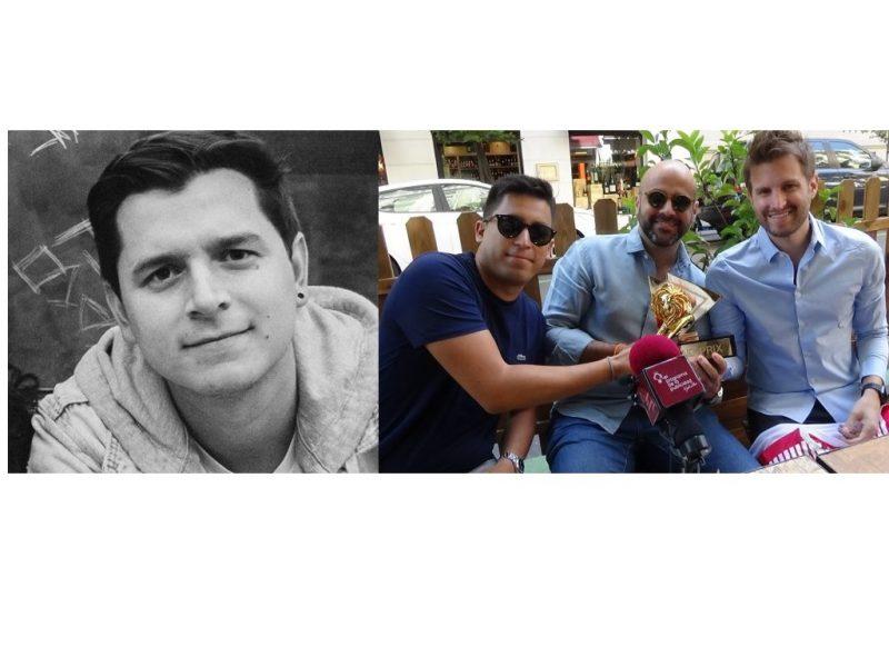 Luis Giraldo, André Toledo , Saulo Rocha,David Madrid ,programapublicidad