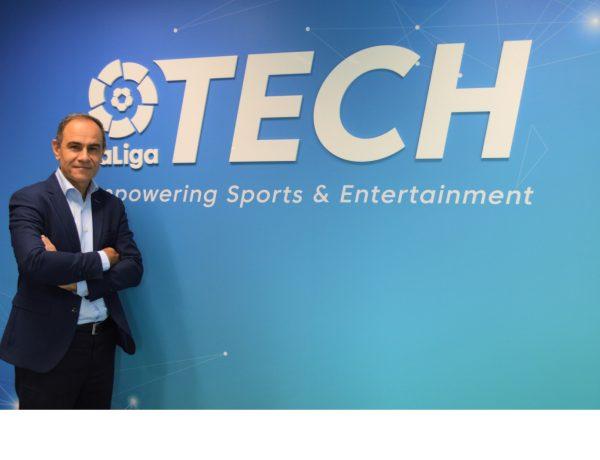 Miguel Ángel Leal , nombrado , director general , LaLiga Tech, programapublicidad