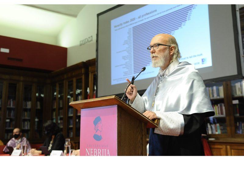 Universidad Nebrija ,inviste ,doctor ,honoris causa, publicista ,Toni Segarra, programapublicidad