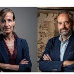 Vanessa Hernández y Juan Cantón directores generales de Operaciones y Prensa de PRISA Media