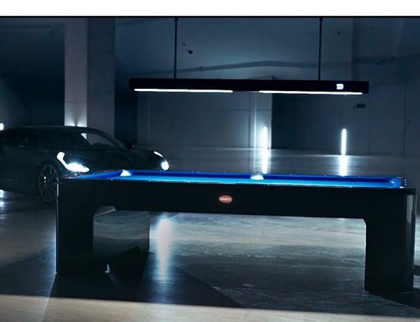 Verve Creative Group produce , video , 100 segundos, lanzamiento, mesa ,Bugatti Pool ,Table, programapublicidad