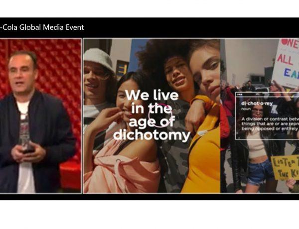 dicotomia cocacola, evento , presentacion,real magic,programapublicidad