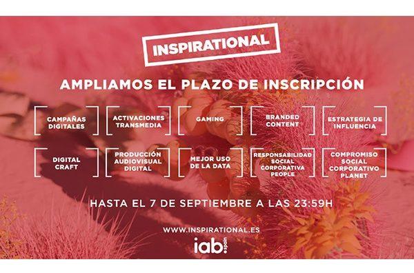 inspirational'21,,amplia, plazo, inscripcion, programapublicidad