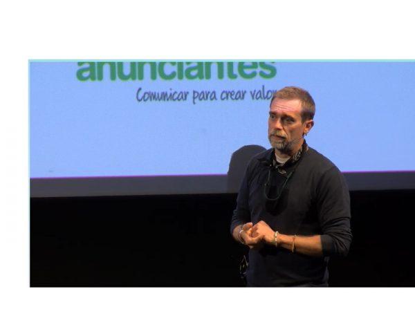 #Jornadasdecinepublicitario . Albert Soler ,presidente ,APCP , presenta , documento,buenas practicas, agencia, anunciante, programapublicidad