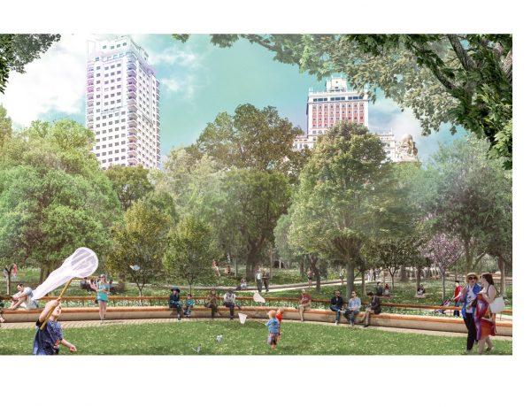 El Ayuntamiento ,campaña informativa ,remodelación ,Plaza de España, irismedia, programapublicidad