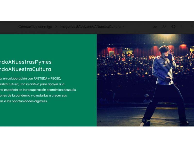 Facebook ,lanza ,#ApoyandoANuestraCultura, programapublicidad