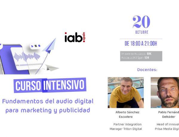 IAB, FUNDAMENTOS, AUDIO, DIGITAL, MARKETING Y PUBLICIDAD, programapublicidad