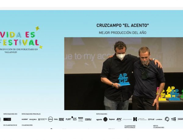 #JornadasDeCinePublicitario, Premio ,Mejor Produccion del Año ,Cruzcampo ,Con mucho Acento, ,programapublicidad