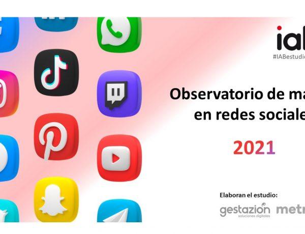Observatorio , Marcas , RRSS ,IAB Spain, programapublicidad