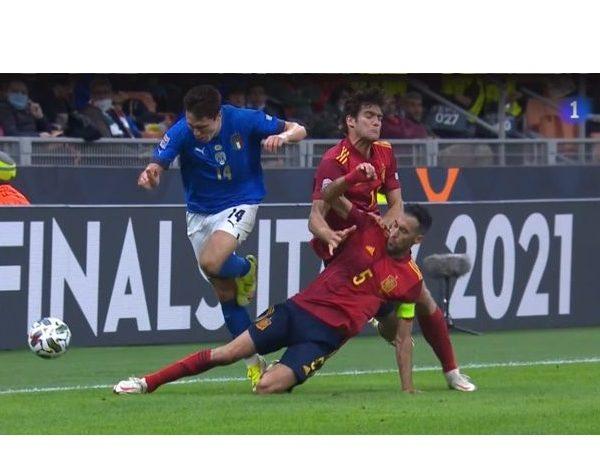 UEFA ,Italia-España, Nations League , Italia , España, la1, programapublicidad